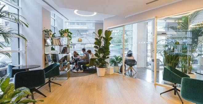 bild på kontor företagsflytt